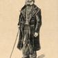 Orphan man, vincent van gogh - plakat wymiar do wyboru: 59,4x84,1 cm