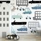 Tapeta dziecięca - vehicle design , rodzaj - próbka tapety 50x50cm