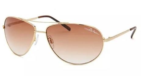 Okulary aviatory bloc hurricane f134 złote
