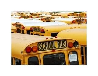 New york - shool bus - reprodukcja