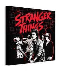 Stranger things action ready - obraz na płótnie
