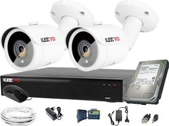 Zestaw do monitoringu: rejestrator lv-xvr44se-ii, 2x kamera 5mpx lv-al5m3tf-ii ir 30m, 1tb, akces