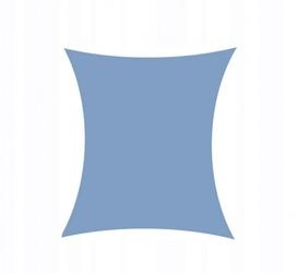 Żagiel przeciwsłoneczny daszek zacieniacz 3x2 ciemny niebieski