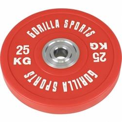 Profesjonalne obciążenie typu bumper 25kg