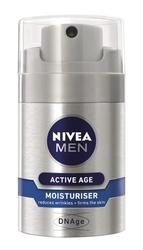 Nivea for men active age dnage, krem do twarzy, 50ml