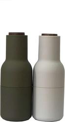 Młynek do pieprzu soli lub przypraw bottle grinder 2 szt. beż i zieleń