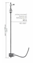 Zestawy mocowań do płyt z drewna, mdf, do blachy, szkła  - m13 - 42611 42611