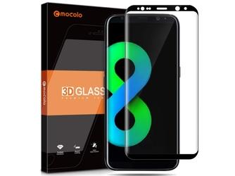 Mocolo 3d szkło na cały ekran samsung galaxy s8 czarne