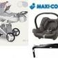 Wózek camarelo pireus 4w1 fotel maxi cosi cabriofix + baza familyfix