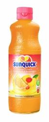 Syrop sunquick brzoskwinia pomarańcza 480ml - brzoskw.-pomarańcz