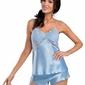 Piżama damska anya 12 niebieska donna