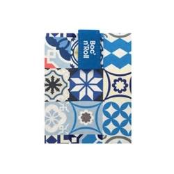 Śniadaniówka bocnroll patchwork blue