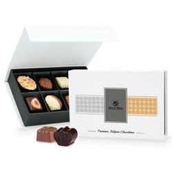 Praliny chocolate box white mini
