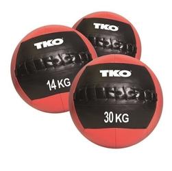 Piłka lekarska miękka wall ball 6 kg k509wb tko - 6 kg