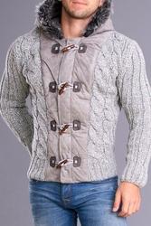 Crsm sweter - szary 7522-3