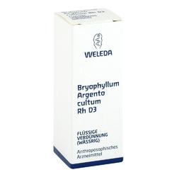 Weleda bryophyllum argento cultum rh d3, roztwór