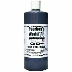 Poorboys world qd+ - quick detailer z woskiem carnauba 946ml