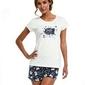 Cornette 665225 smile 2 trzyczęściowa piżama damska