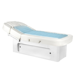 Spa leżanka kosmetyczna wodna azzurro 361a-1 wodny materac podgrzewana biała