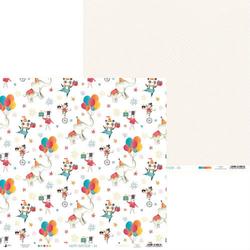Papier do scrapbookingu Happy Birthday 30,5x30,5 cm - 04 - 04