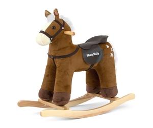 Milly mally pepe dark brown koń na biegunach