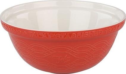 Misa ceramiczna retro tala 2,5 l czerwona