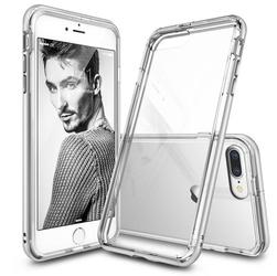 Etui ringke fusion frame iphone 7 ice silver - srebrny