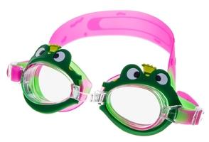 Okulary do pływania vivo junior b-0123 zielono-różowe