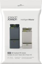 Worki na śmieci do kosza intelligent waste 20 szt. 24-36 l