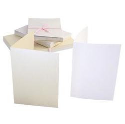 Zestaw kart i kopert Anitas A6 -50 szt. perłowe - PERŁ