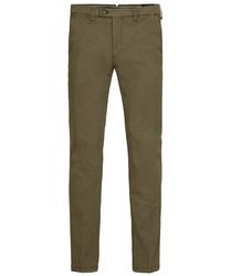 Męskie spodnie typu chino w kolorze army 3432