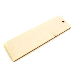Prosta zakładka drewniana do rękodzieła - 12 - 12