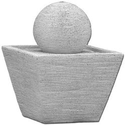 Vb fontanna jednopoziomowa, kula, na zewnątrz i wewnątrz, 50cm