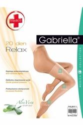 Gabriella relax medica 20 den beżowy rajstopy