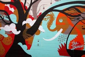 Fototapeta na ścianę abstrakcyjne graffiti fp 3108