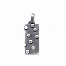 Wisiorek - gray dots