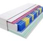 Materac kieszeniowy sparta molet max plus 155x200 cm średnio twardy 2x lateks