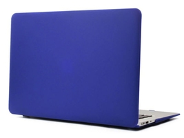 Macbook air 13 etui pokrowiec hard case granatowe - granatowy