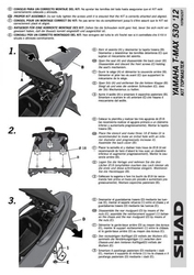 Stelaż shad kshy0tm52st yamaha t-max 530 - 1216