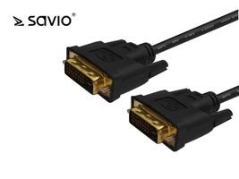 Elmak savio cl-53 kabel dvi dm - dvi dm 24+1 dual link, 2 ferryty, 3m
