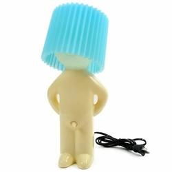 Wstydliwa Lampka - niebieska
