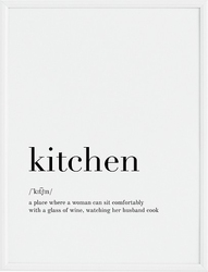 Plakat kitchen 30 x 40 cm
