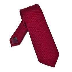 Elegancki czerwony krawat van thorn z grenadyny