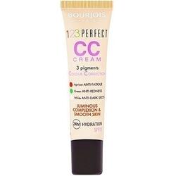 Bourjois cc cream 123 perfect, wygładzający cerę i rozświetlający krem ujędrniający 30ml 033 - rose beige