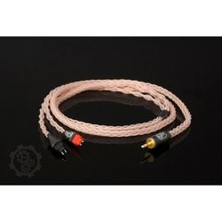Forza audioworks claire hpc mk2 słuchawki: philips fidelio l1, wtyk: 2x furutech 3-pin balanced xlr męski, długość: 2 m