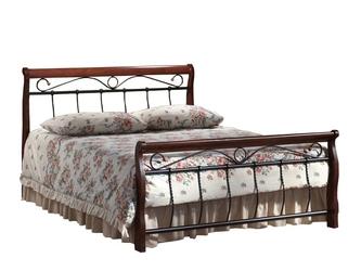 Łóżko florencja 140x200 czereśnia antyczna