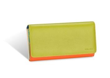 Duży portfel damski valentini colors 272 - zielony