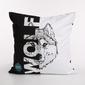 Poszewka na poduszkę bawełniana dekoracyjna altom design dzikie zwierzęta dek. wolf 40 x 40 cm