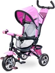 Toyz timmy pink rowerek trójkołowy z obracanym siedziskiem + prezent 3d