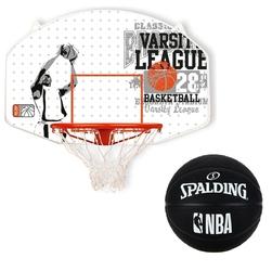 Zestaw tablica do koszykówki new port piłka spalding basketball out